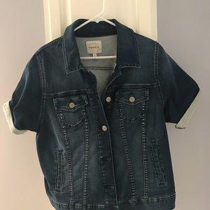 Plus size Torrid jean jacket